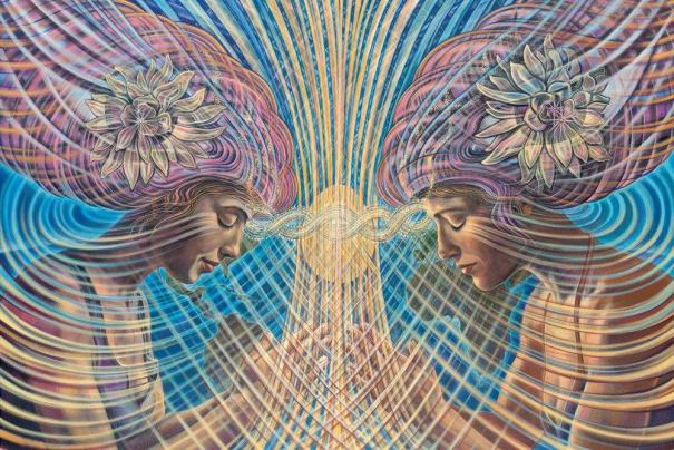 light and sound meditation