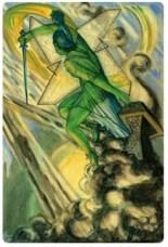 thoth tarot court cards