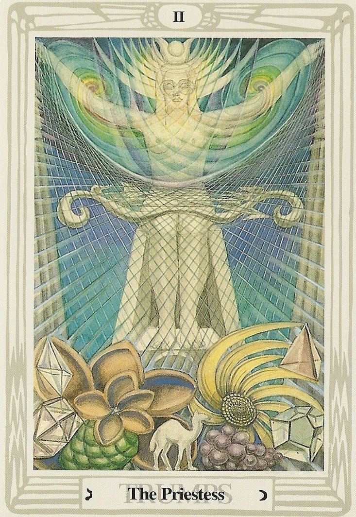 Image result for the high priestess tarot thoth