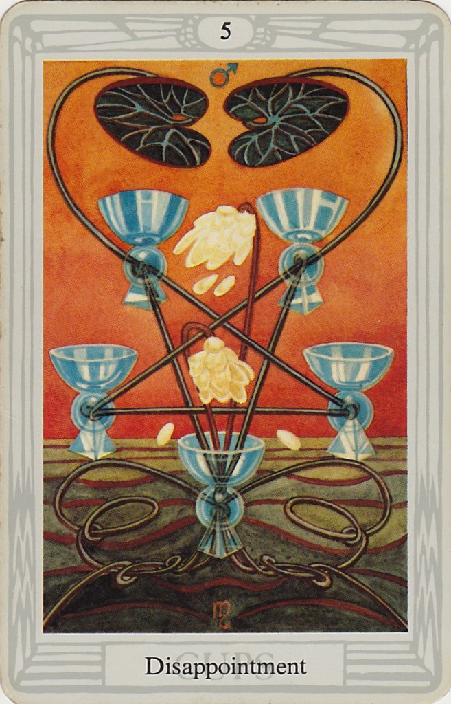 Five Of Cups Thoth Tarot Card Tutorial