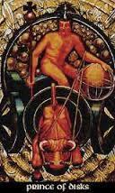 Prince of Disks Thoth Tarot Card Tutorial