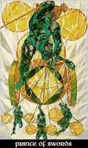 Prince of Swords Thoth Tarot Card Tutorial