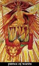 Prince of Wands Thoth Tarot Card Tutorial