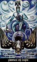 Prince of Cups Thoth Tarot Card Tutorial