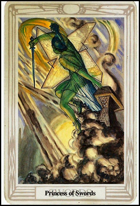 princess of swords thoth tarot