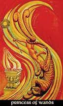 Princess of Wands Thoth Tarot Card Tutorial