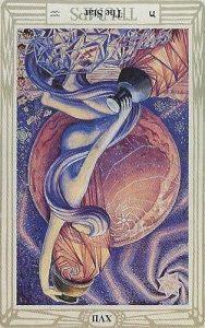 Thoth Star Tarot Card
