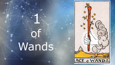 ace of wands rider waite