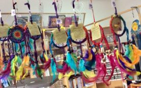 Lapače snů v obchodě Esoterie