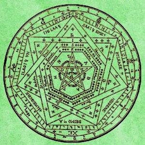 Il Pentacolo dei Pentacoli, anche detto Pentacolo universale dalle molteplici applicazioni.