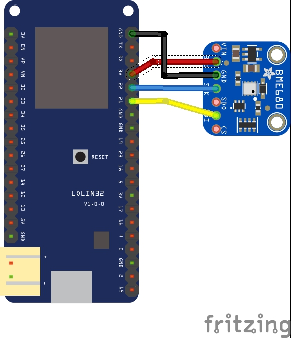 esp32 and bme680