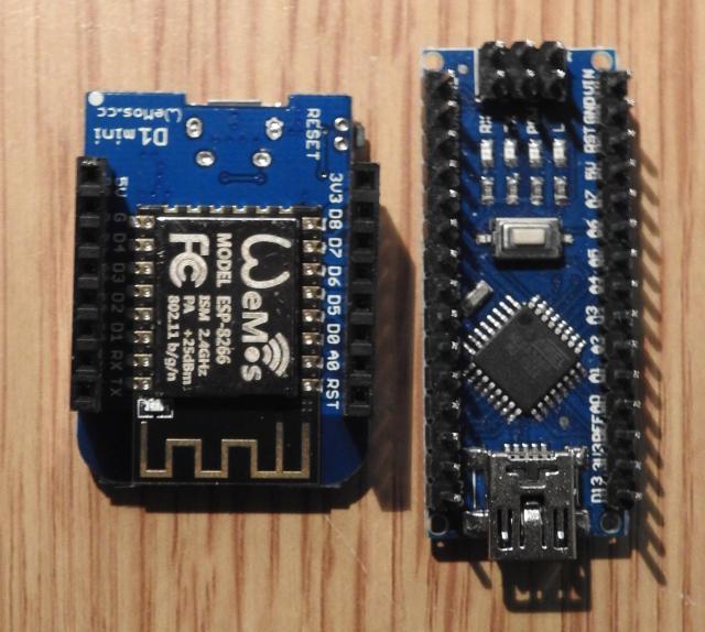 Wemos d mini hardware esp learning