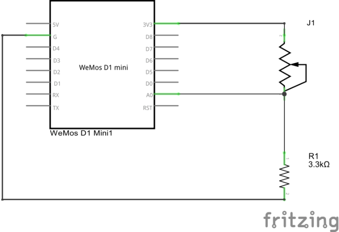 wemos and force sensor_schem
