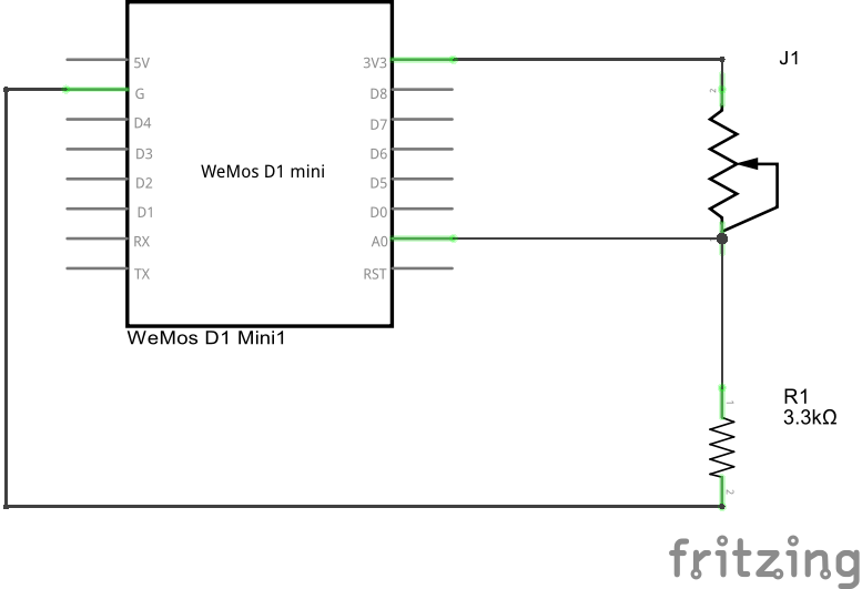 ESp8266 and force sensitive resistor example - esp8266 learning