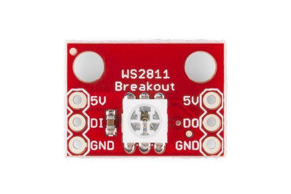 Wemos Mini WS2812b example - esp8266 learning
