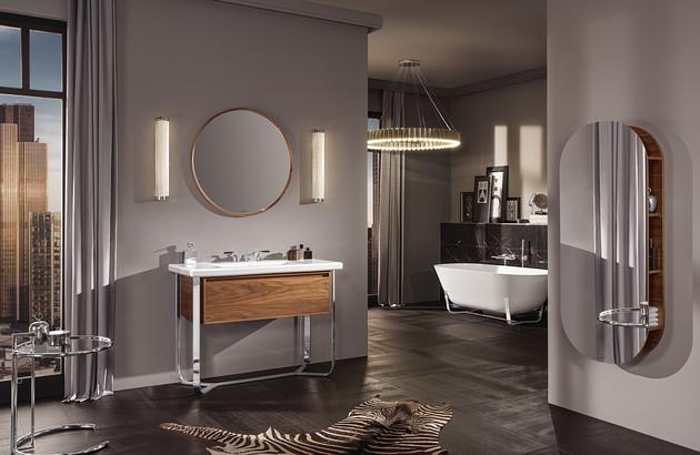 salle de bains luxueuse