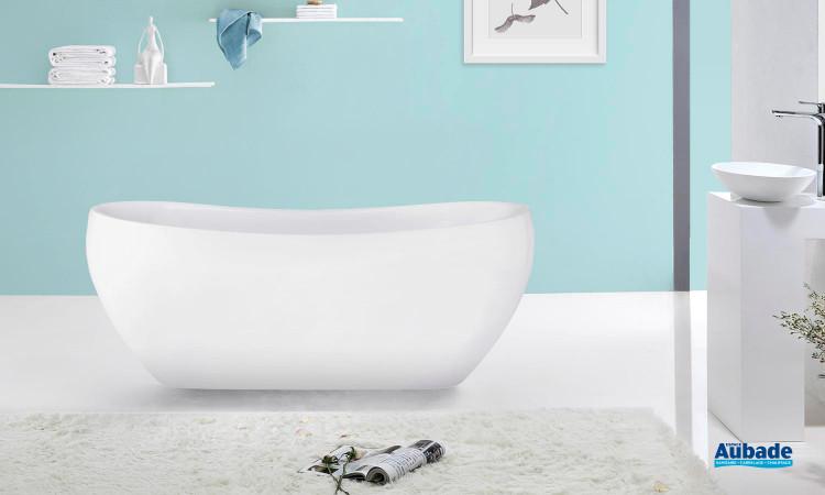 baignoire ilot monobloc cosibelle de jacuzzi