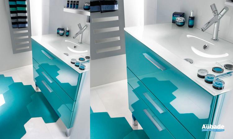 meubles salle de bains bleu delpha