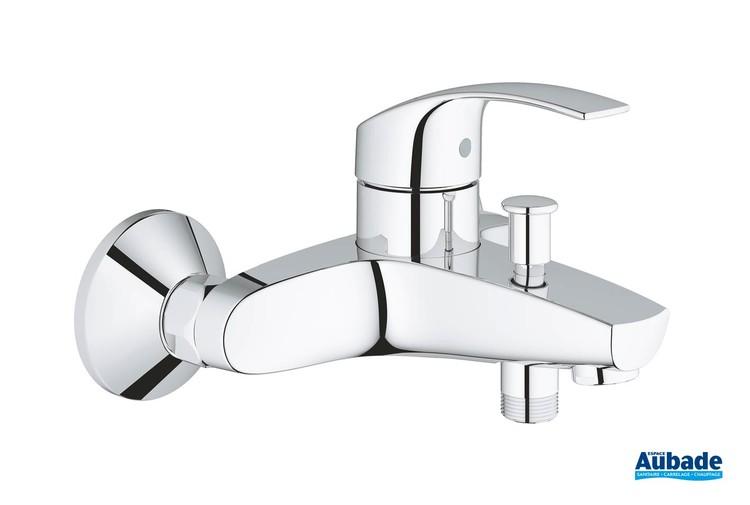 mitigeur monocommande bain douche eurosmart chrome