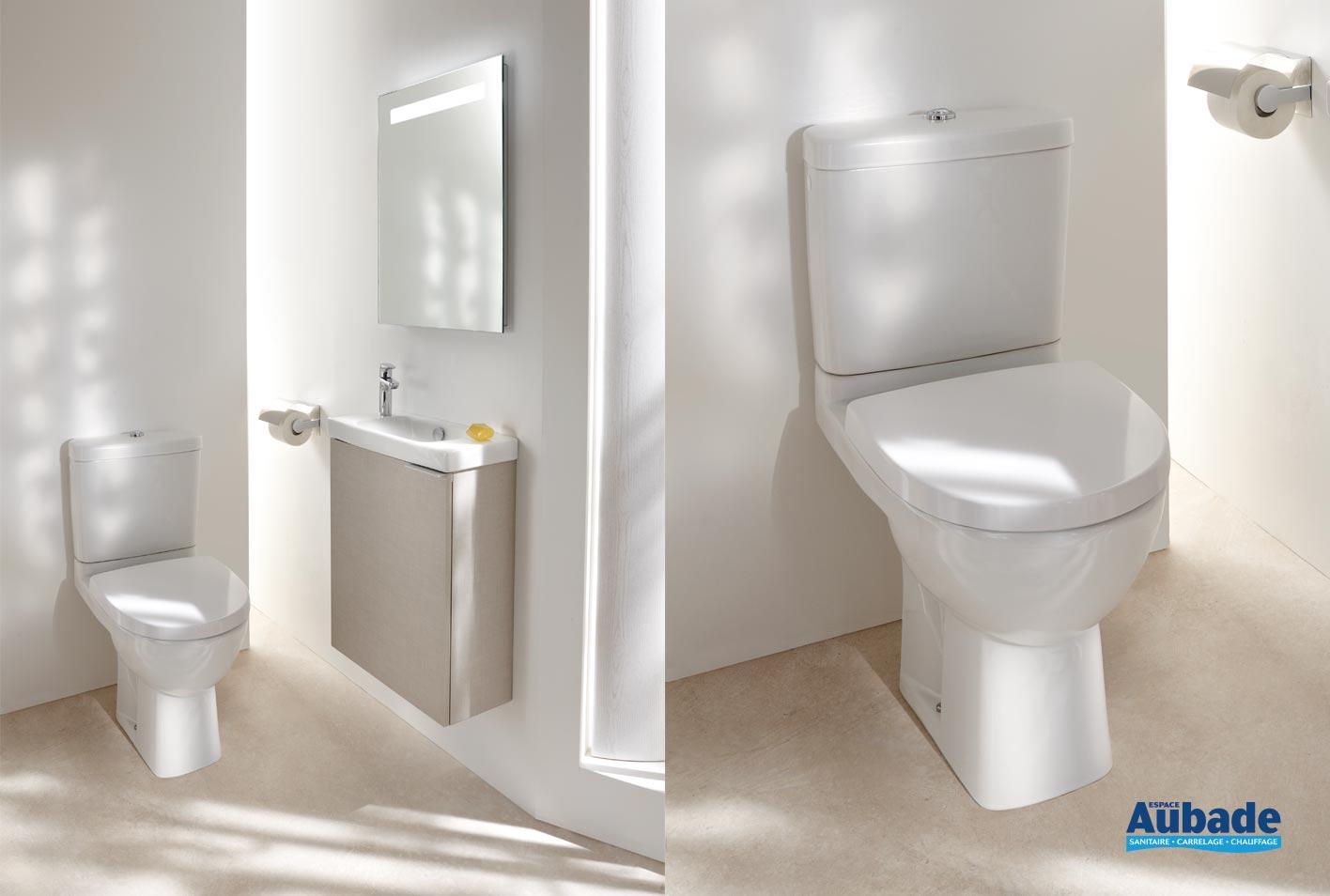 toilettes ensemble wc odeon up de jacob delafon espace aubade