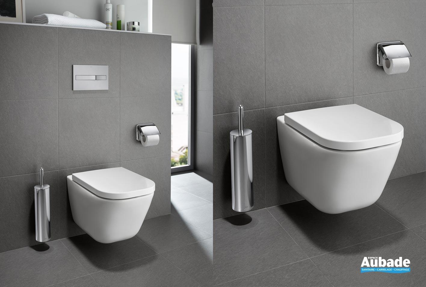 toilettes wc suspendu the gap de roca espace aubade