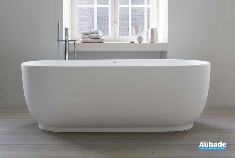 baignoire luv en ilot de la marque duravit