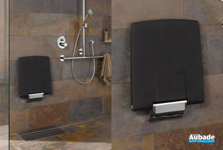 siege de douche avec barre murale keuco