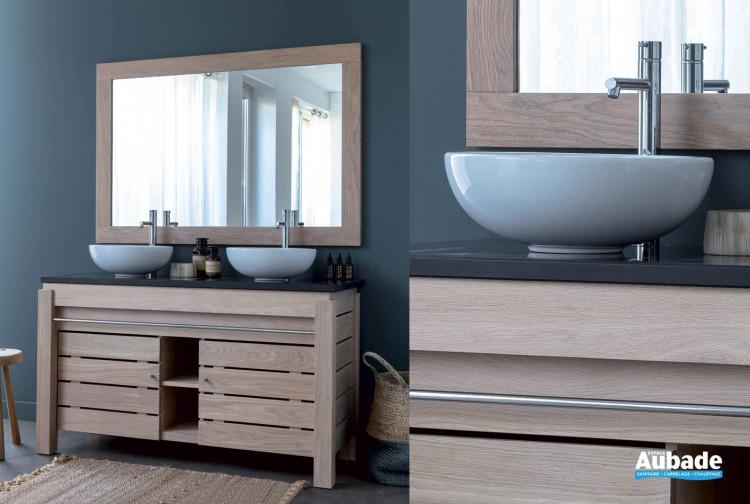 meuble salle de bains origin chene de line art