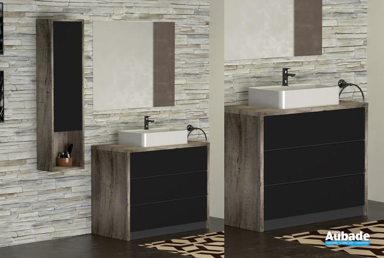 meubles charme pour vasque a poser par lido