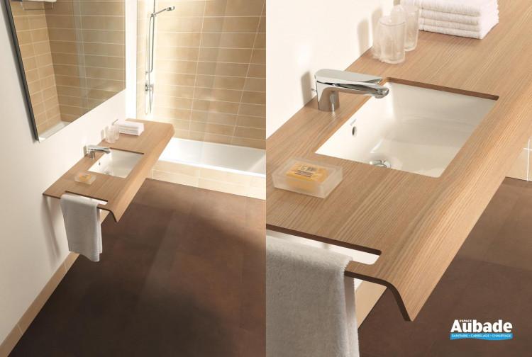 meubles salle de bains bois duravit
