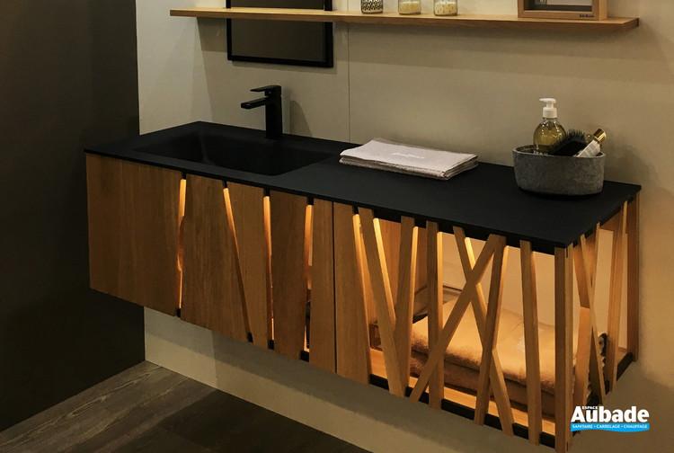 meuble salle de bains design en bois