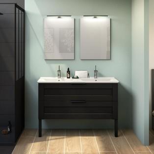 idee deco salle de bain vintage