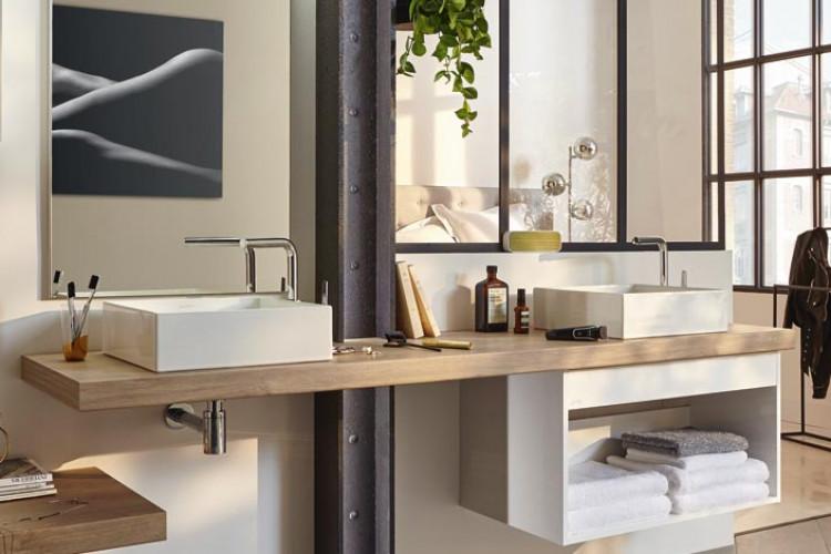 salle de bain design et fonctionnelle