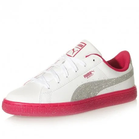 Chaussures Puma Fille Rose