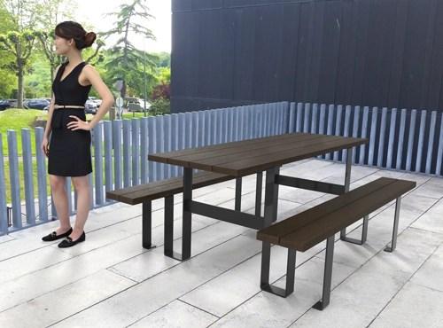 - table de pique-nique FP180 ESPACE URBAIN