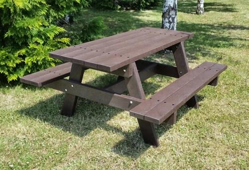 - table de pique-nique PARC ÉCO ESPACE URBAIN