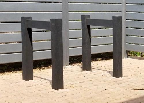 Range vélo Garden en plastique 100% recyclé - Range-vélo GARDEN ESPACE URBAIN