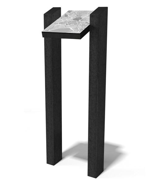 - TABLE D'INFORMATION 2 pieds ESPACE URBAIN