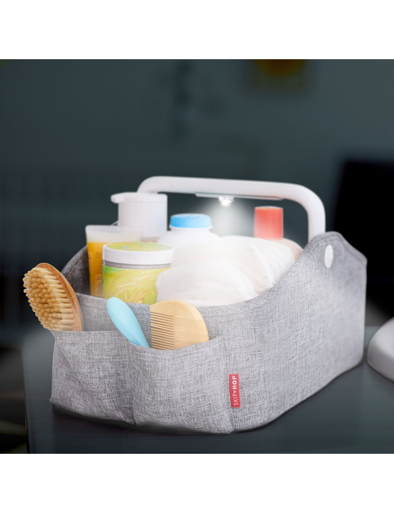 skip hop panier a langer light up diaper caddy