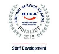 Espace Europe - BIFA Freight Service Awards 2015 Finalist