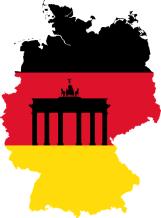 Germany Flag Road Freight