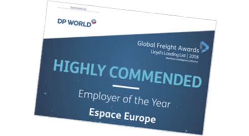 Espace Europe BIFA Finalist 2016 European Logistics