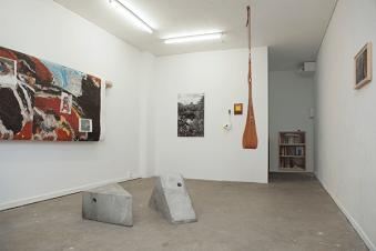 Vue de l'exposition RRR, Mathieu Daflon, Labo, novembre 2015