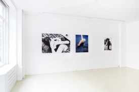 Vue exposition Echoes, Magali Dougados, mars 2018, le Labo