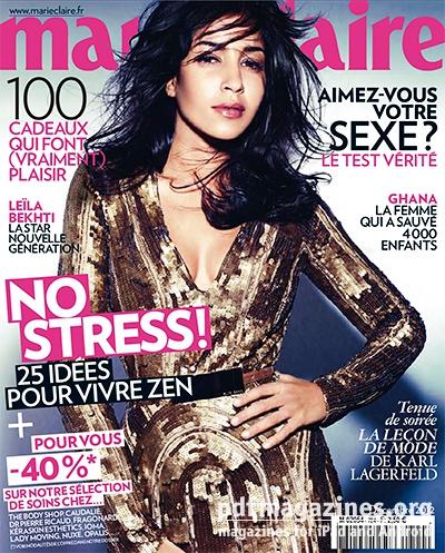 magazine marie claire decembre 2012