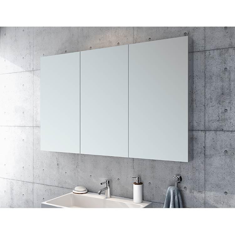 armoire a pharmacie triple miroir