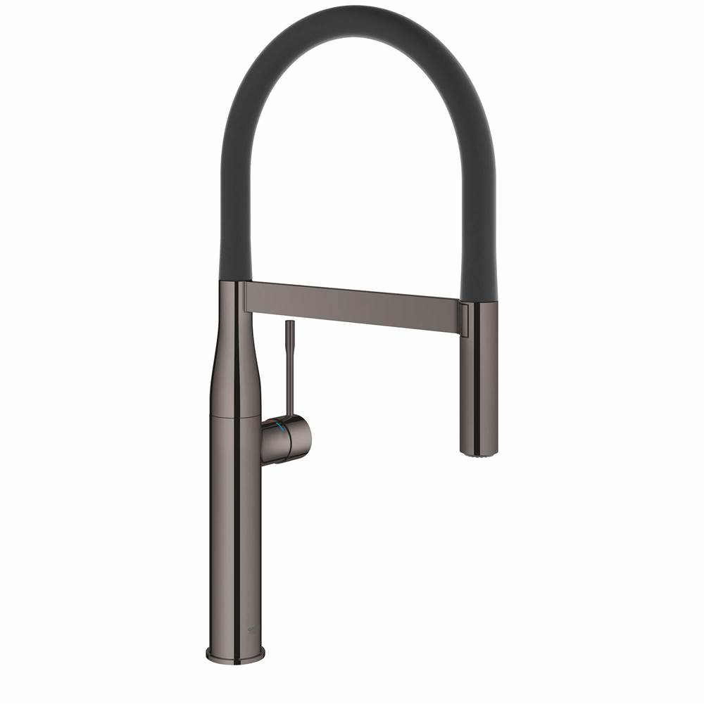 single handle semi pro dual spray kitchen faucet 66 l min 175 gpm