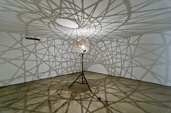 Five fold sphere projection lamp, 2004