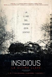 "Portada de la película ""Insidious La Ultima Llave"""