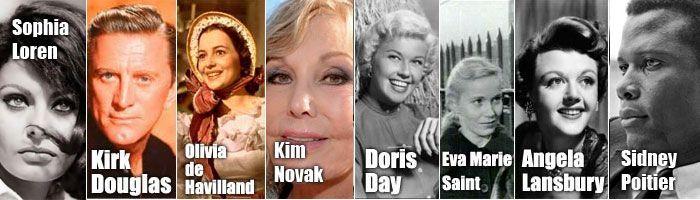 Actores vivos de la Edad Dorada